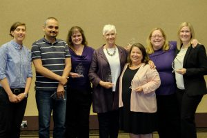 Northwest Justice Project staff recipients of the Access to Justice Advocacy Award