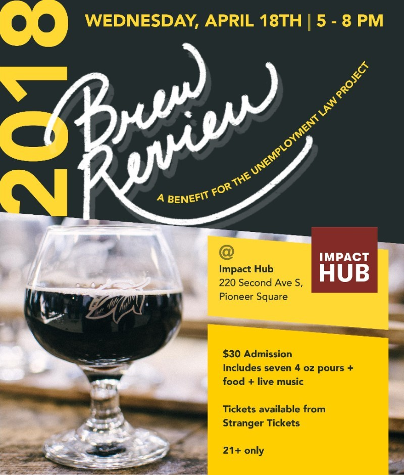 2018 Brew Review to Benefit Unemployment Law Project