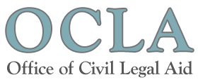 Logo for the Office of Civil Legal Aid