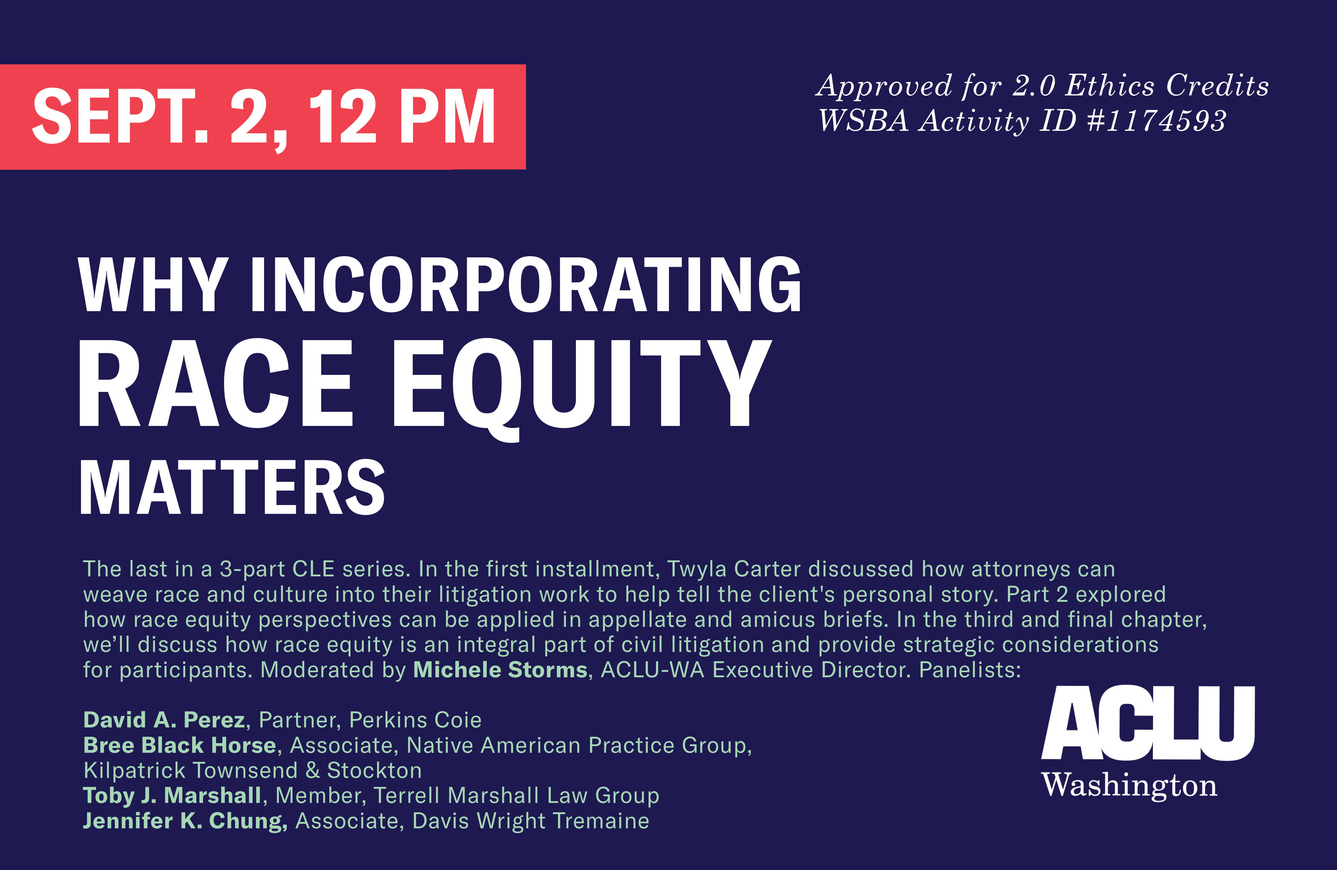 Why Incorporating Race Equity Matters